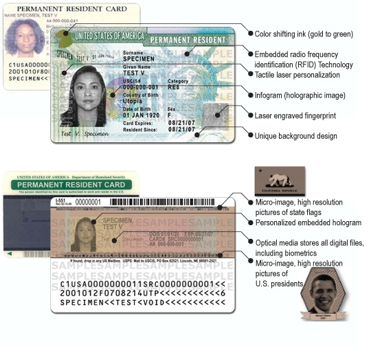 USCIS To Issue Redesigned Green Card